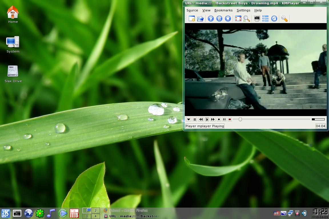 SLAX Desktop by Vher528