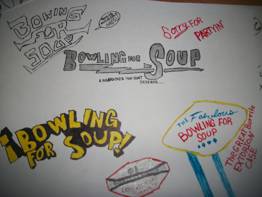 Bowling for soup mixed logos by Code719 on DeviantArt