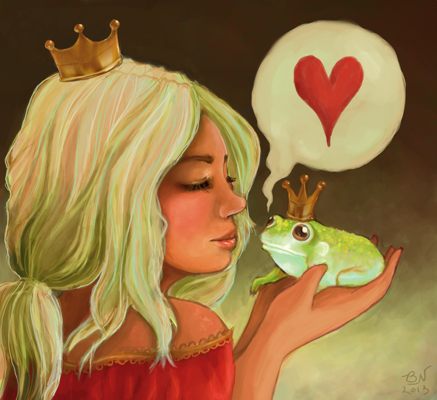 Gold Diggers Beware!! Frog_prince_by_baileynickerson-d5scgg4