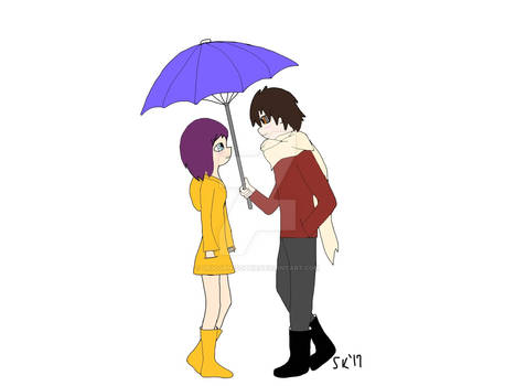 Love Under an Umbrella