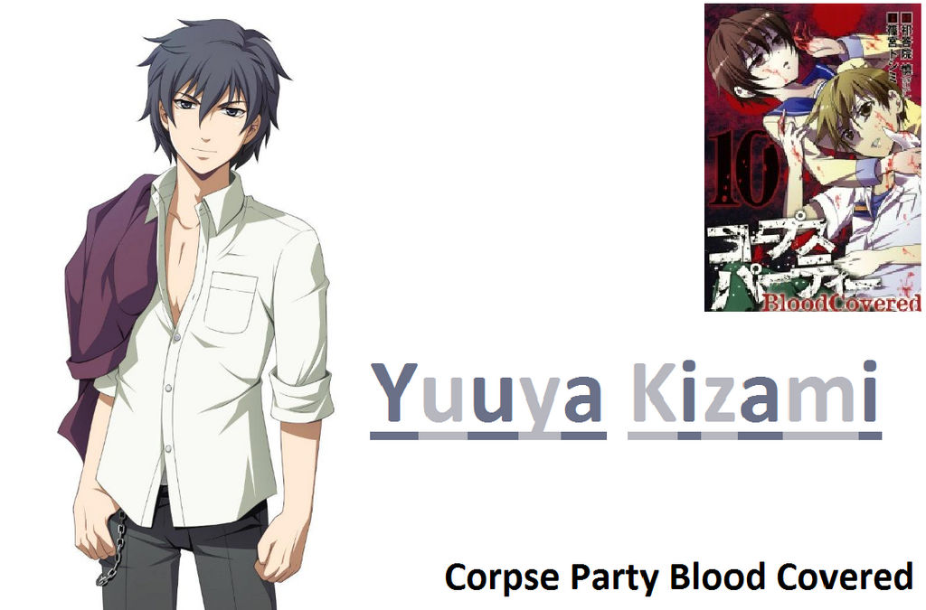 Yuuya Kizami Corpse Party Blood Covered By Animeciviperturk On