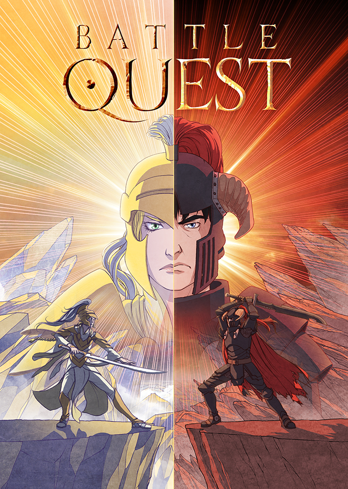 Battle Quest Title Page by spoonbard