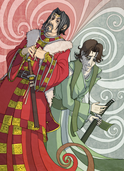 Sebastian + Alonso by spoonbard