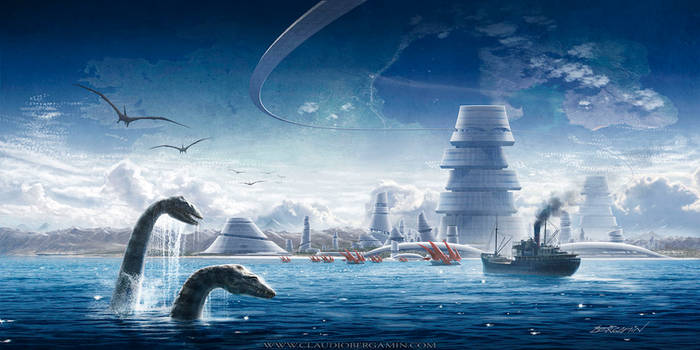 A Journey to The Hollow Earth by ClaudioBergamin
