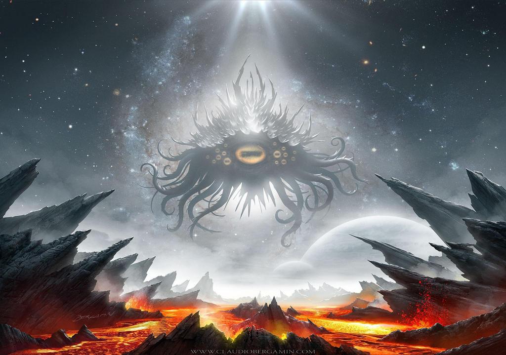 Azathoth Vs Cthulhu Azathoth by ClaudioBer...
