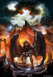 Battle Beast, Unholy Savior (album cover) by ClaudioBergamin