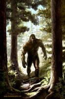 Bigfoot by ClaudioBergamin