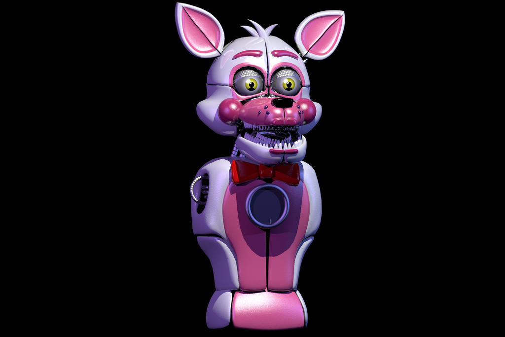 Funtime Foxy Head And Body Finished (with Endo) By