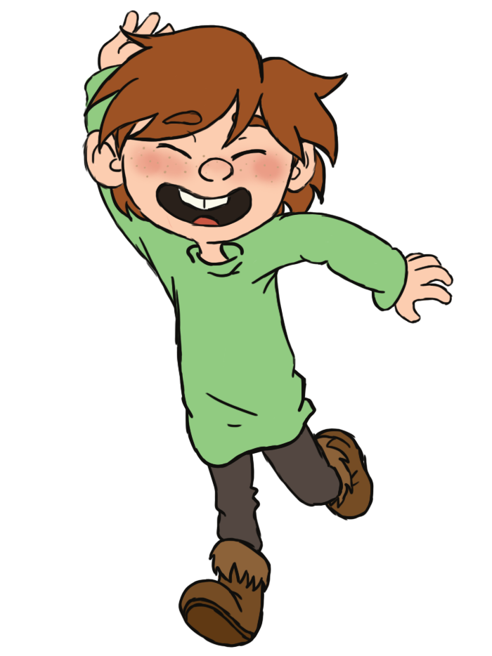 Toddler!Hiccup - colored by PhantomDreamerLuna
