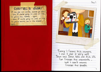 Castiel's Diary by M0nzteer