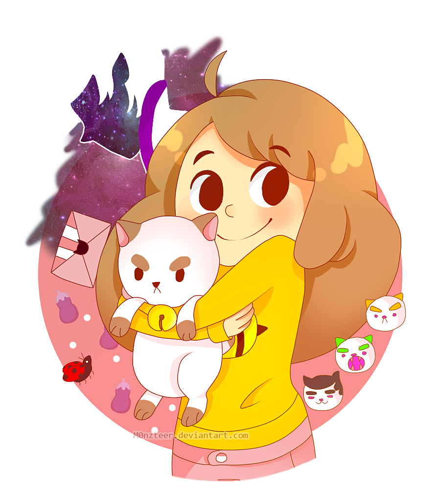 Bee and PuppyCat by M0nzteer