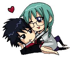 Sasuke and Kia commission by DannyC8