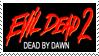 Evil Dead 2 Stamp by RahRahRahTimmay