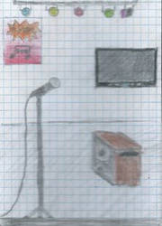 Karaoke day by Thinkinboutart