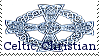 Celtic Christian Stamp by Tricia-Danby