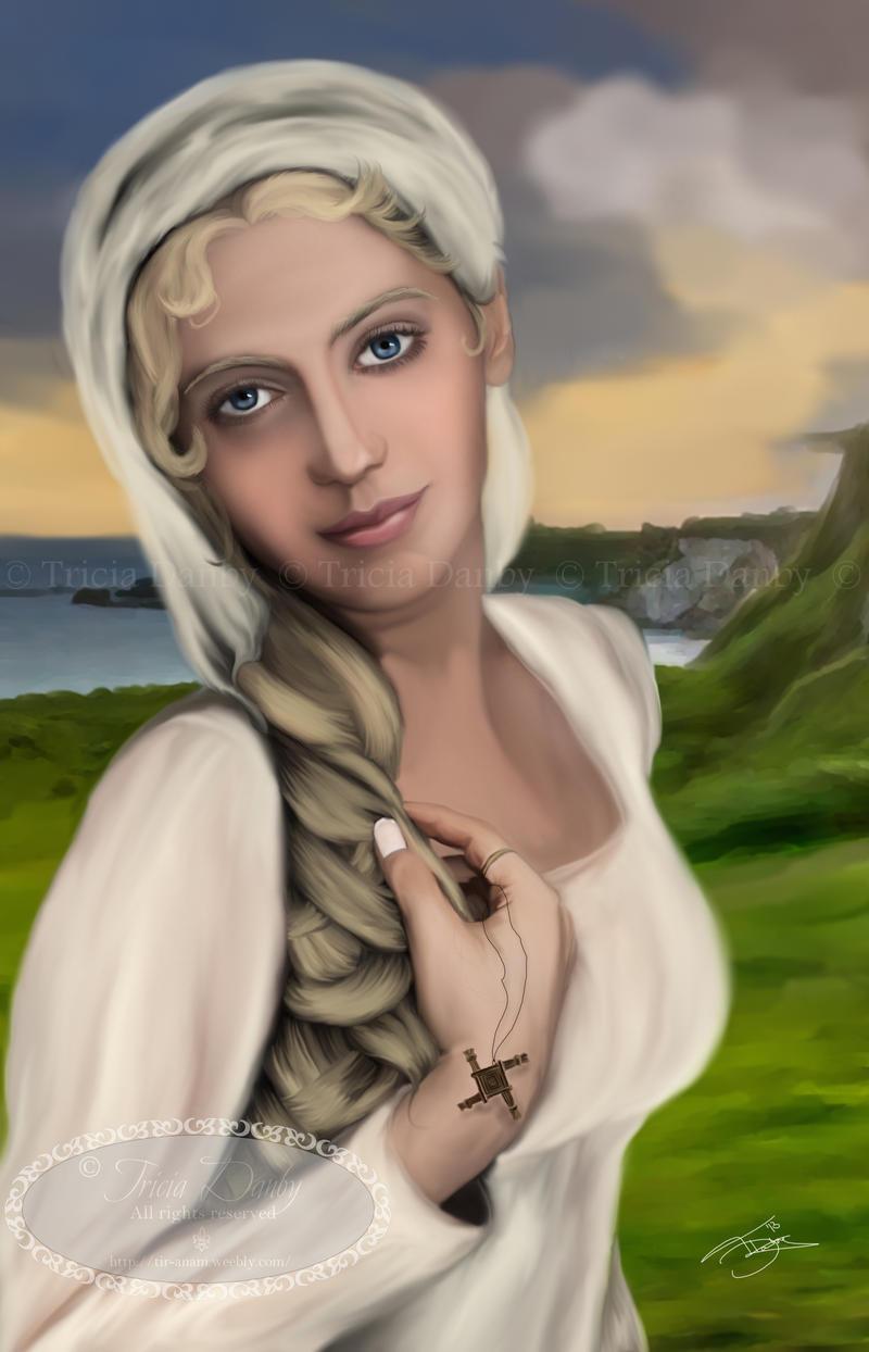 Saint Brighid by Tricia-Danby
