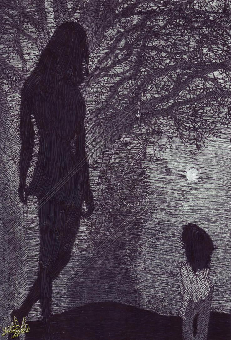 A Black Deity by Yoni-Danziger