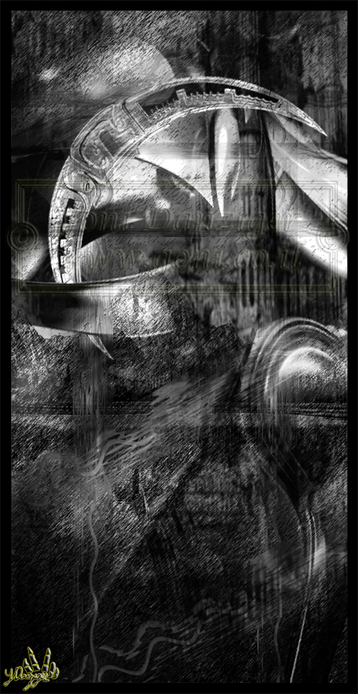 Cyber Moon by Yoni-Danziger