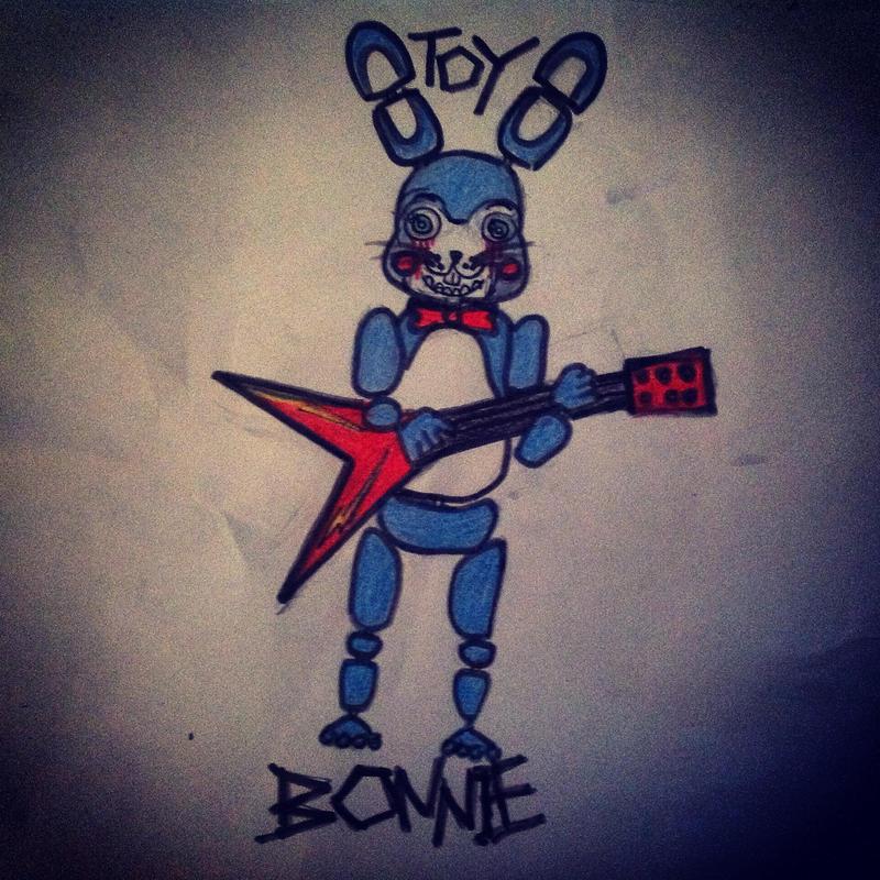 Toy Bonnie By Popcorn111 On DeviantArt
