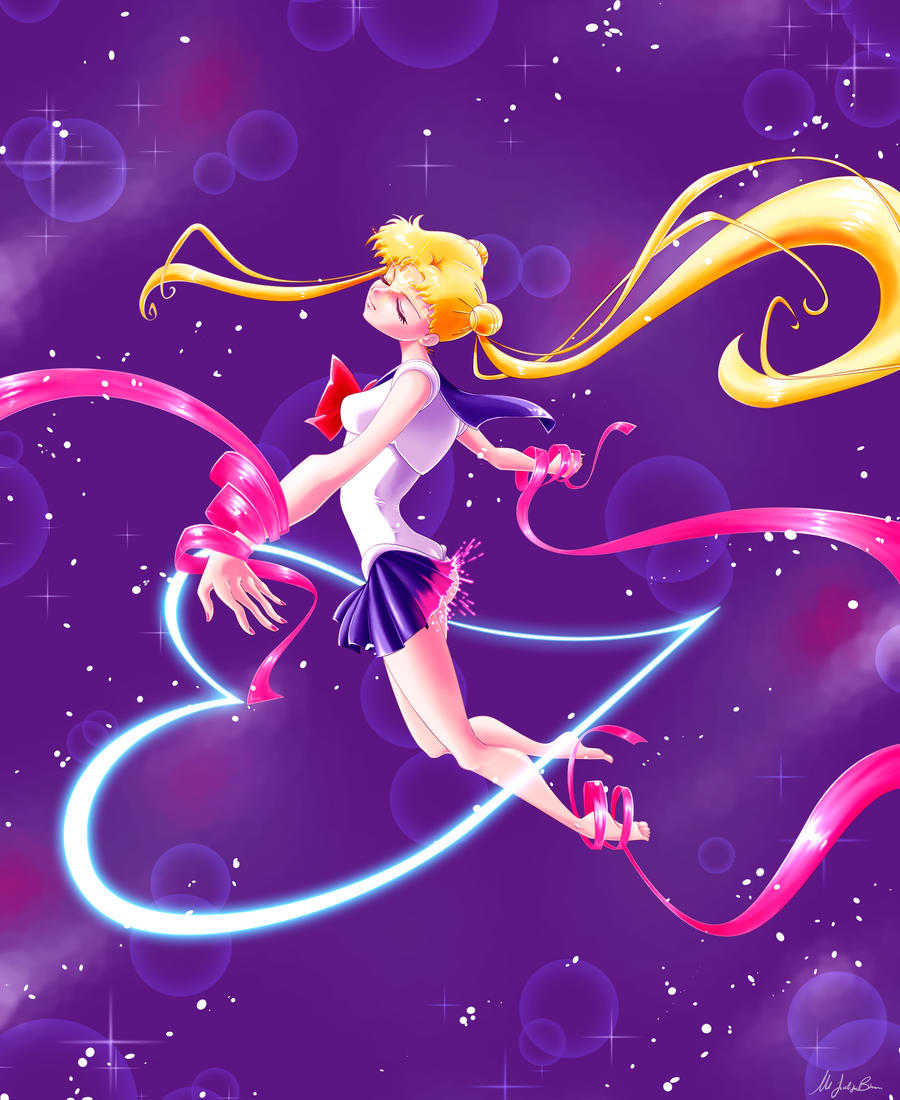 Sailor Moon Henshin! Moon Cosmic Power Make Up! by Joliet
