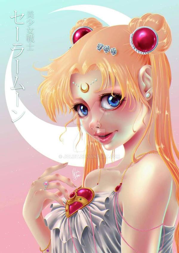 Character Design Challenge Sailor Moon : Sailor moon for character design challenge by joliet on