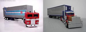 G1 Optimus Trailer vs Movie Optimus Trailer