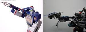 G1 Soundwave and Movie Soundwave