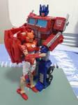 Optimus and Elita One
