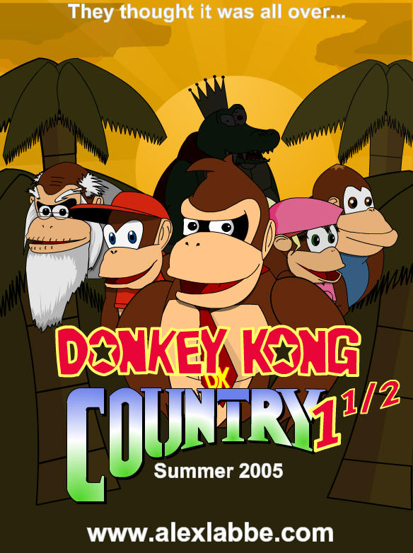 how to create donkey kong country