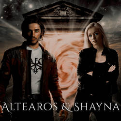 Altearos and Shayna by LaraCroft8