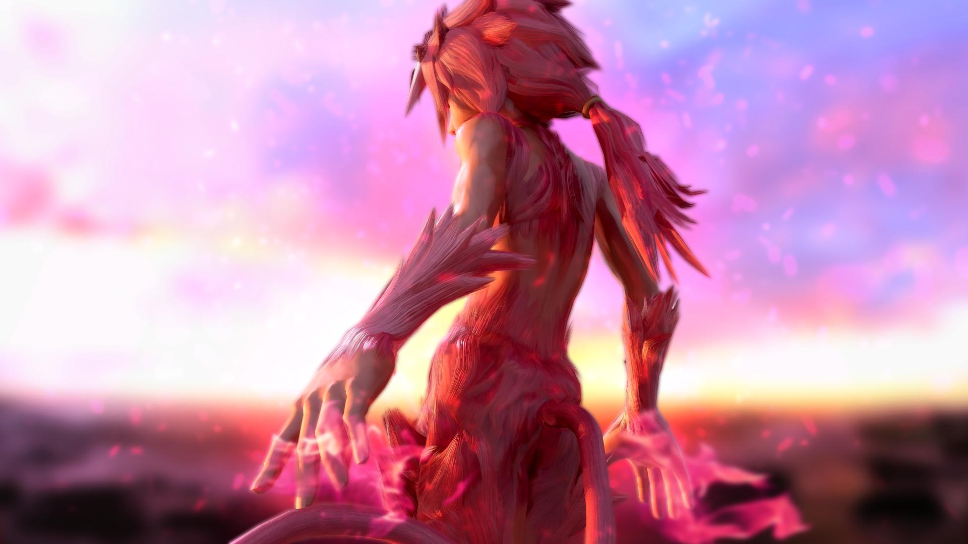Marmoset Toolbag Final Fantasy Ix Zidane Tribal By Hallowedgal