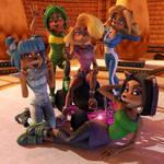 Blender - The Bandicoot Girls