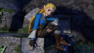Blender -  BOTW Zelda is the best