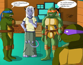 Payback - SeikoX by tmntart