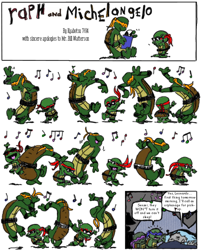 Crossover Contest Entry 12 by tmntart