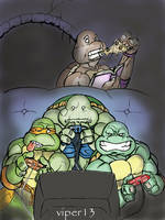 Turtle Playstation by viper13 by tmntart