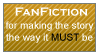 Fanfiction stamp 2 by Mythical-Human