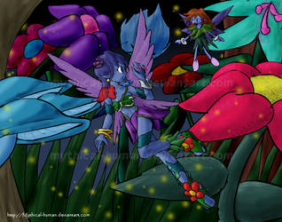 Night fairies by Mythical-Human