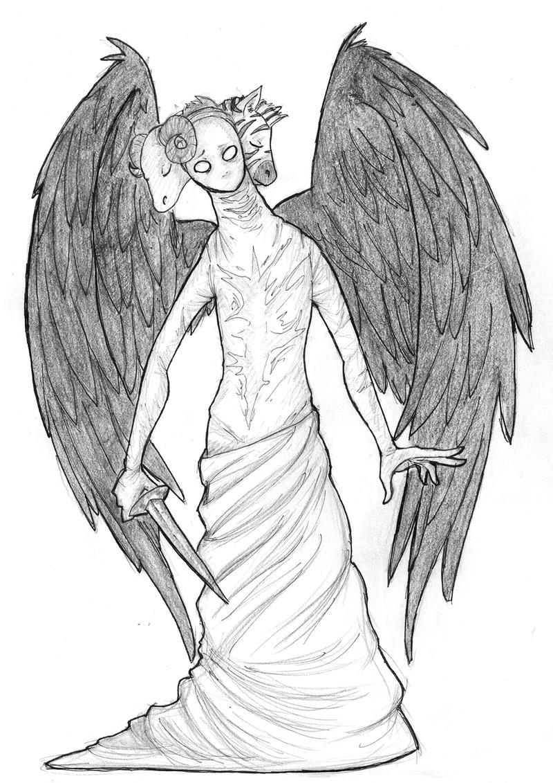 castiel's ~*true form*~ by Embryno on DeviantArt
