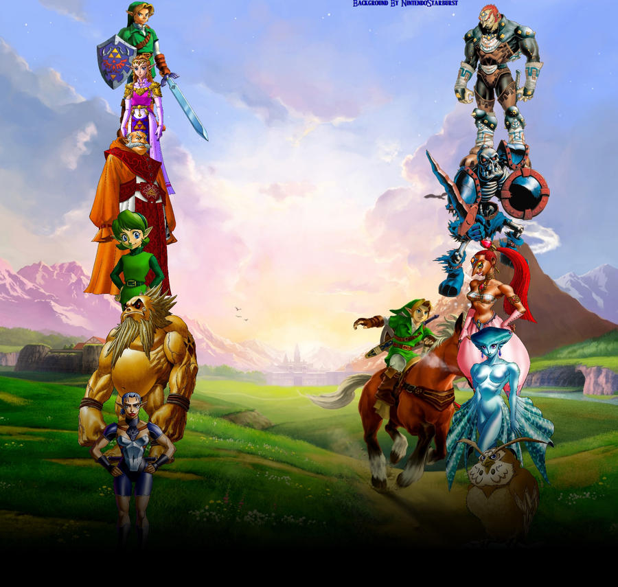 The Legend of Zelda: Ocarina of Time Background by