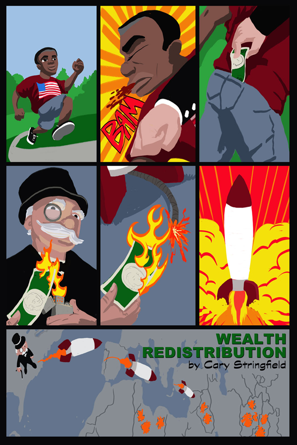 Wealth Redistribution by captainclark