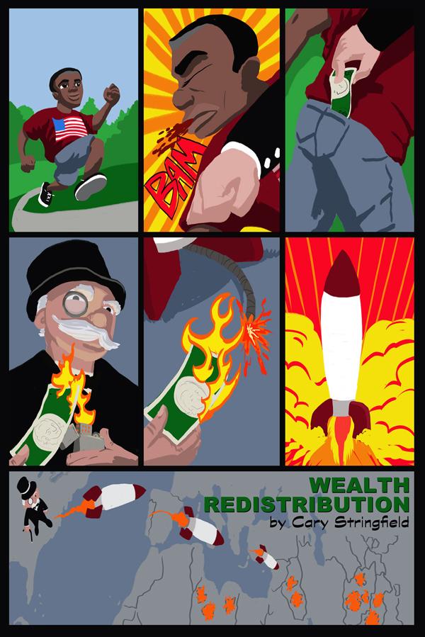 Wealth Redistribution by captainclark