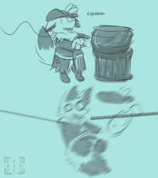 harpoon shenanigans by Renkindle