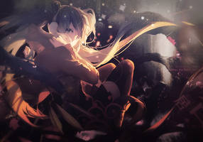 Hatsune Miku by BlackHeartRaviles