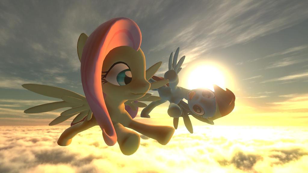 [Gmod] [FlutterDash] : A flight together by bloodyspare