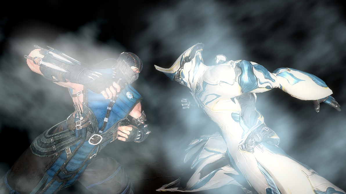 [Warframe X MKX] The Survival of the coldest! by bloodyspare