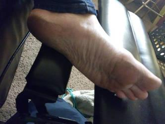 left foot by changegoddess