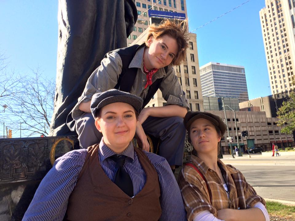 Newsies: Jack, Davey, and Spot by SabinaRose5