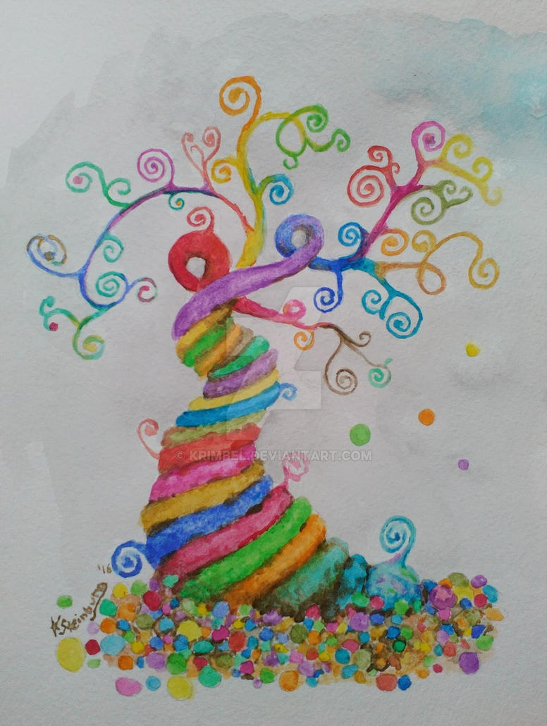 candy tree by krimbel