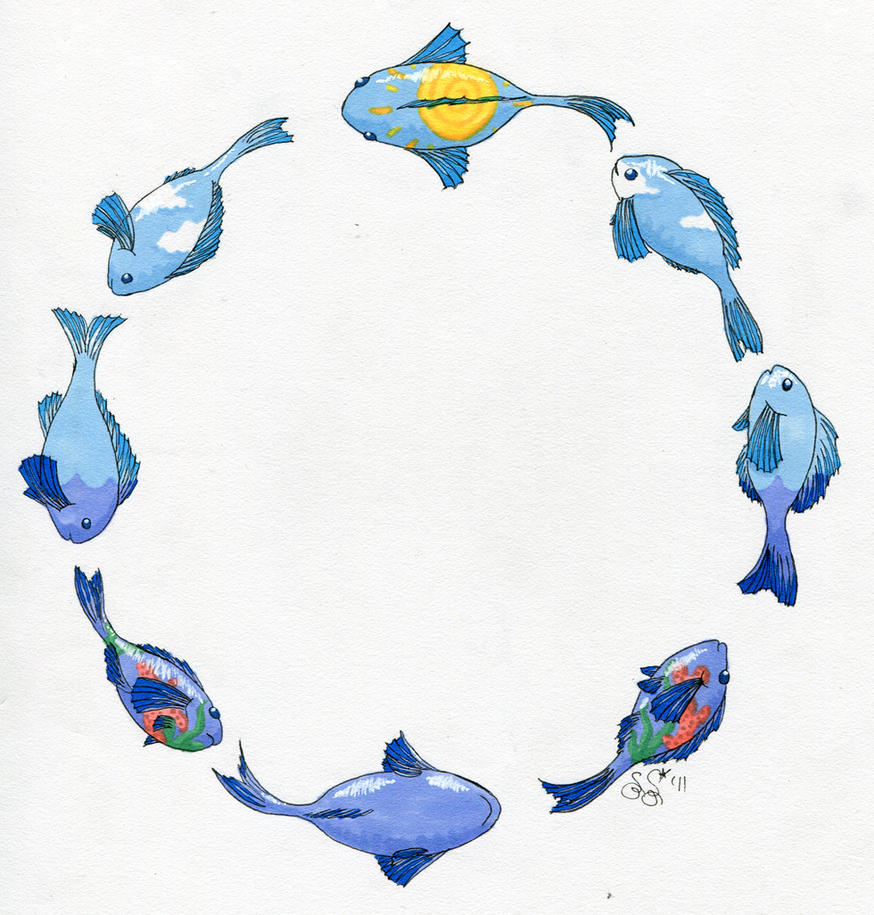 The Circle of Fish by Alipes